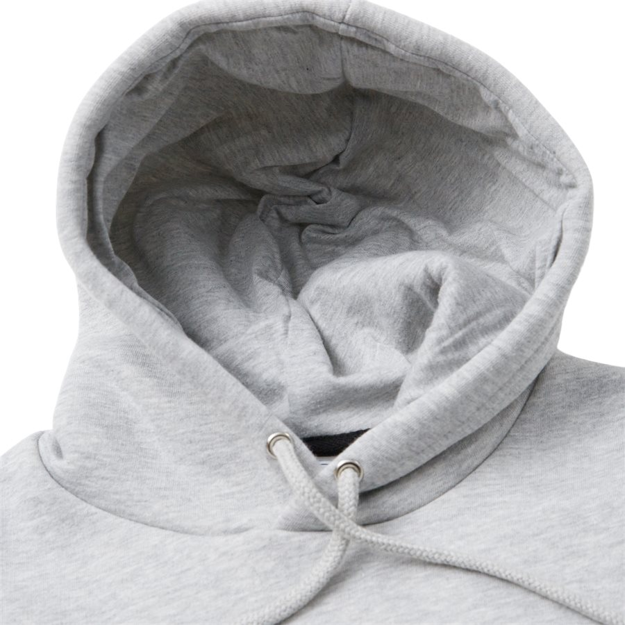 NANCY - Nancy Sweatshirt - Sweatshirts - Regular - GREY MELANGE - 4